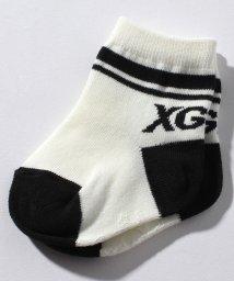 X-girl Stages/ラインロゴクルーソックス/501105408