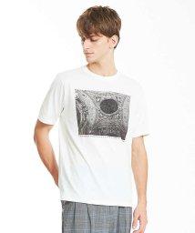 ABAHOUSE/LouvreアートプリントTシャツ/501109534