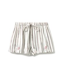 gelato pique/モチーフ刺繍ストライプショートパンツ/501109634