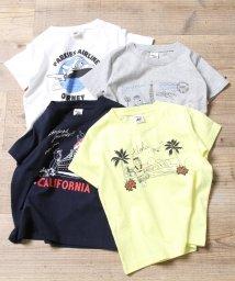 coen/【coen キッズ / ジュニア】PARKIES(パーキーズ)エアプリントTシャツ(100~150cm)/501093254