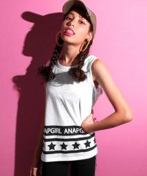 ANAP GiRL/裾ロゴ星ラインタンクトップ/501103722