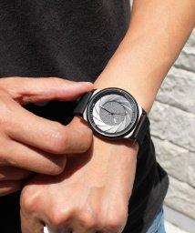 SELECT/〈CADISEN/カディセン〉オールブラック C9056 シリコンベルト/ステンレス  腕時計/501105121