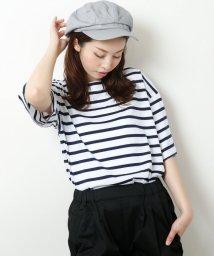 framesRayCassin/ゆるシルエットかすれプリントTシャツ/501110722