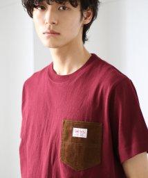 coen/SMITH別注コーデュロイポケットTシャツ/501110745