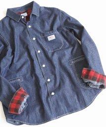coen/SMITH別注デニムワークシャツ18FW/501110849