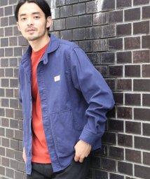 coen/SMITH別注ショールカラーキャンバスシャツジャケット/501110850