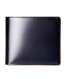 GUIONNET/GUIONNET 日本「MIYAUCHI社」製のコードバン(馬革)を使用 日本製コードバン 二つ折り財布 PG203 メンズ/500633369
