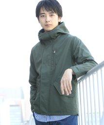 coen/【18FW新色】TCボリュームネックショートモッズブルゾン/500713516