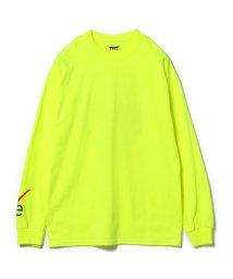 BEAMS OUTLET/VEIL × Ray BEAMS / 別注 袖ロゴ ロングスリーブ Tシャツ/501077925
