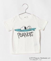 koe kids/スヌーピーサーフボード耳付半袖Tシャツ/501108410
