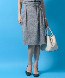 TONAL/【セットアップ対応商品】ツイードライクタックタイトスカート/501110879