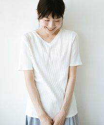 haco!/haco!女の子バンザイプロジェクト【キラキラ期】 ここぞ!とばかりに華奢見せ女っぽTシャツ/501110889