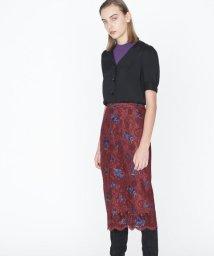 GRACE CONTINENTAL/レース小花刺繍スカート/501113075