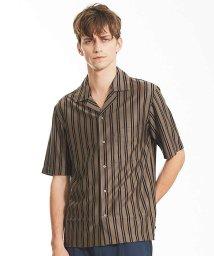 ABAHOUSE/テンセルジャージーオープンカラーシャツ/501113417