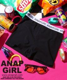 ANAP GiRL/ロゴテープ1分丈レギンス/501108772