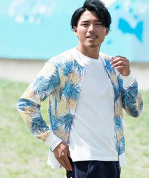 VICCI/VICCI【ビッチ】ボタニカル柄メッシュMA-1ジャケット/501114677