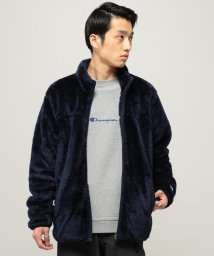 BEAMS MEN/【WEB限定】Champion × BEAMS / 別注 ジップフリース ジャケット/501114775