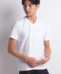 JNSJNM/【NYLAUS】ジャガードTシャツ/501105474