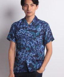 JNSJNM/【BLUE STANDARD】レーヨンベースアロハシャツ/501105476