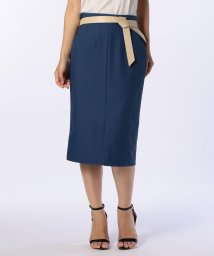 NOLLEY'S/ベルト付きタイトスカート/501107617