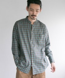 URBAN RESEARCH/LOOSE FIT STAND COLLAR SHIRTS/501116034