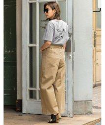 Re:EDIT/20/-綿天竺バックプリントTシャツ/501117046
