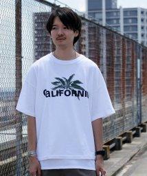 JOURNAL STANDARD relume Men's/18/-CALIFORNIA USA PLANTS Tシャツ/501117393