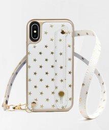 kajsa/〈Kajsa/カイサ〉iPhone X / iPhone XS / iPhone XS MAX Starry Straps Back case/500894074