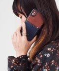 kajsa/〈Kajsa/カイサ〉iPhone XS / iPhone X Denim Pocket Backcase/デニムポケット バックケース/500894075