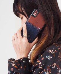 kajsa/〈Kajsa〉iPhone X Denim Pocket Backcase/500894075