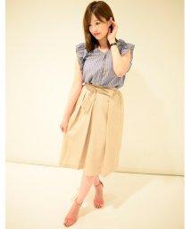Eimy Peal by POWDER SUGAR/ギアサバックゴム共リボン付スカート/501108363