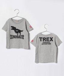 petit main/恐竜プリントTシャツ/501110191