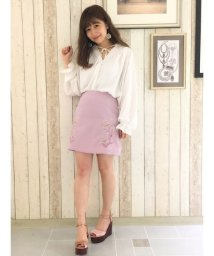 dazzlin/刺繍台形スカート/501117747