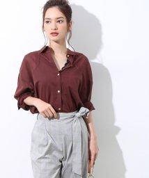 ROPE' mademoiselle/コットンボイルオーバーシャツ/501100653