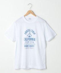 coen/マリンモチーフプリントTシャツ/501107953