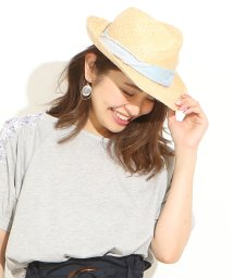 NICE CLAUP OUTLET/【natural couture】ラフィア帽/501114461