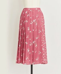 Noela/【美人百花10月号掲載】オリジナルミックスフラワー柄スカート/501115735