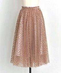Noela/【sweet10月号掲載】【美人百花9月号掲載】レオパードチュール2WAYスカート/501115737