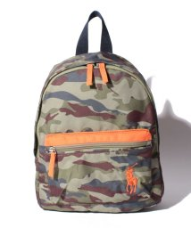 POLO RALPH LAUREN/【KIDS】ARMYCAMO CAMP BACKPACK SM 【ARMY CAMOUFLAGE 】/501118237