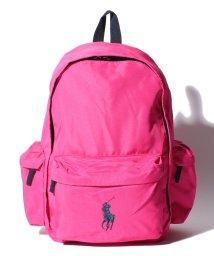 POLO RALPH LAUREN/Classic Pony Backpack II【Ultra Pink/ Navy PP】/501118238