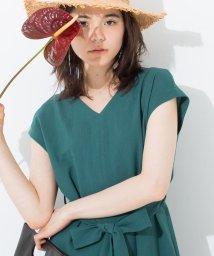 fredy emue/リボン付Iラインワンピース/501119503