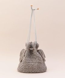 fredy emue/ペーパー巾着サイドフリンジバッグ/501119537