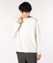 GLOSTER/ドロップロールTシャツ/501119712