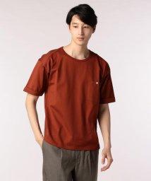 GLOSTER/ドロップショルダーTシャツ/501119770