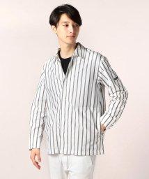 GLOSTER/オープンカラーシャツアウター/501119876
