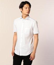 GLOSTER/COOLMAX鹿の子オープンシャツ/501120008