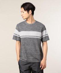 GLOSTER/変則鹿の子Tシャツ/501120087