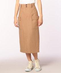 FREDY REPIT/フラノハイウエスト脇ポケットタイトスカート/501120193