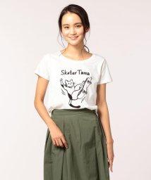 POCHITAMA LAND/Skater Tama Tシャツ/501120243