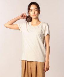 FREDY REPIT/ペルー綿 クルーネックポケット付Tシャツ/501120286